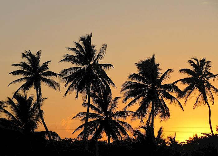 Sunset, Ambergris Caye