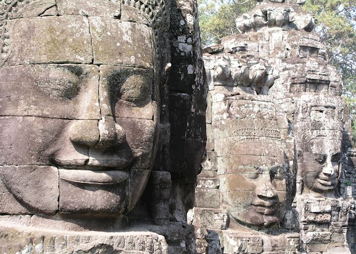 Faces at The Bayon, Siem Reap