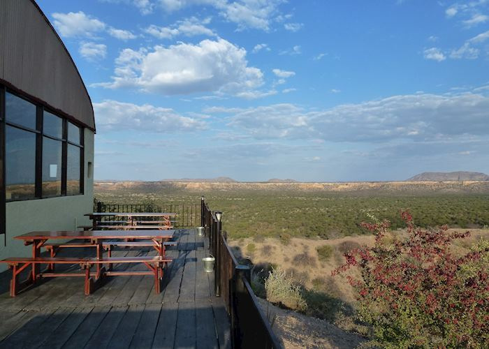 Main lodge and terrace, Ugab Terrace Lodge, Damaraland