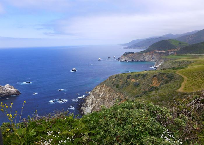 Highway 1, near Monterey Bay, California