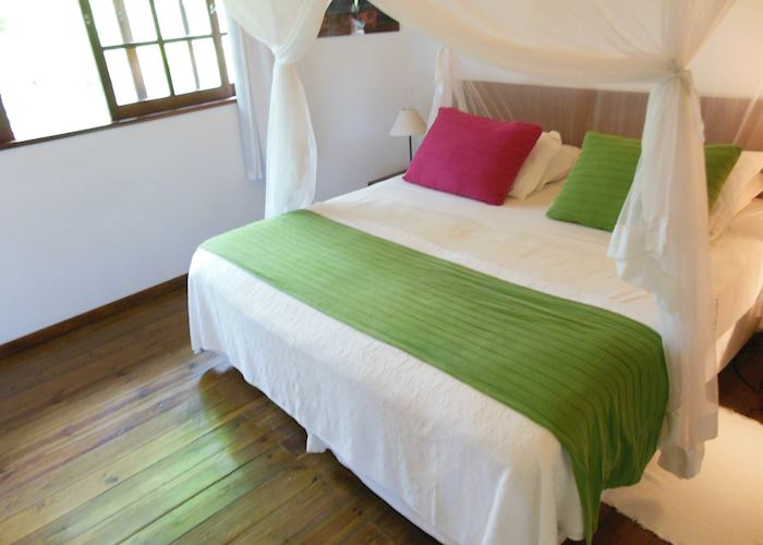 Great use of coloured bedspreads at Hotel Anima