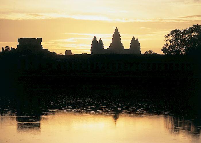 Sunset over Angkor Wat, Siem Reap