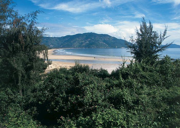 The tropical beaches of Sihanoukville