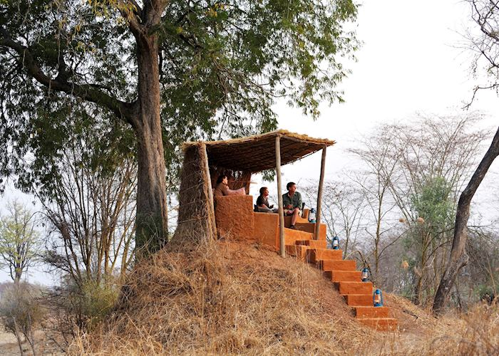 Anthill lookout, Mwamba Bushcamp, South Luangwa National Park