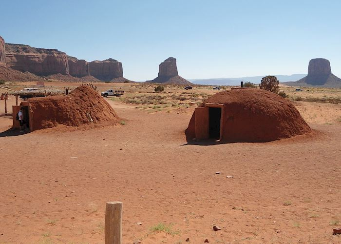 Traditional Navajo Hogans, Monument Valley