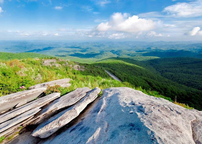 The Blue Ridge Mountains, near Roanoke, Virginia