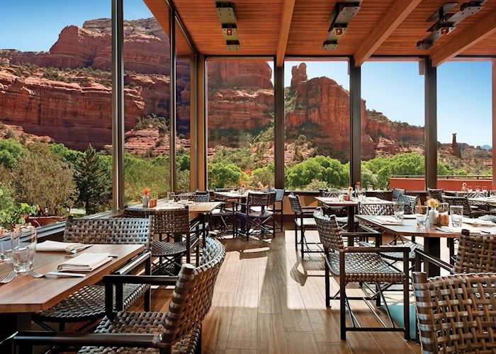 Restaurant at the Enchantment Resort, Sedona