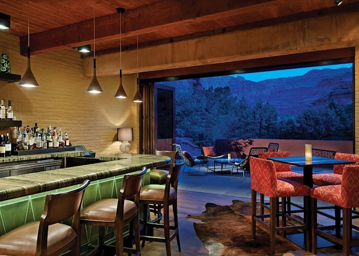 Bar at the Enchantment Resort, Sedona
