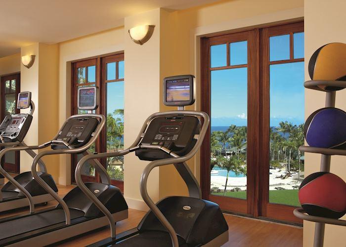 Gym, The Ritz Carlton Kapalua, Maui
