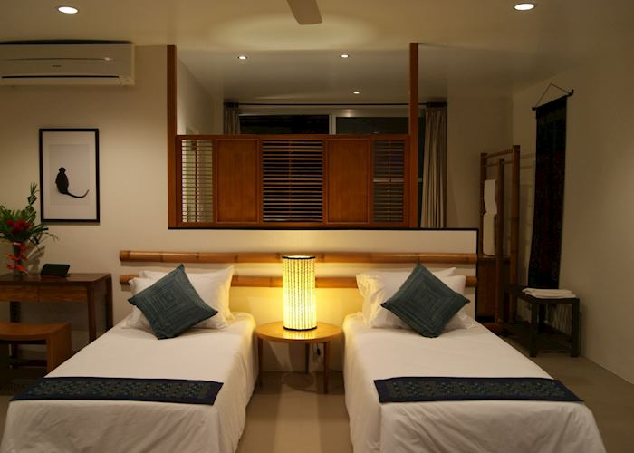 Twin Bed Riverview Room at The River Resort, Champasak