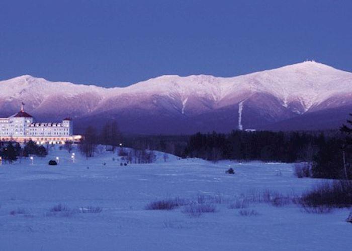 Winter Snow in Jackson, New Hampshire