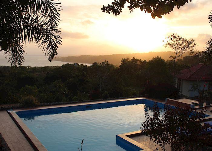 Pool at Sunset, Sumba Nautil