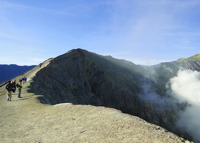 The Crater Rim of Mount Bromo