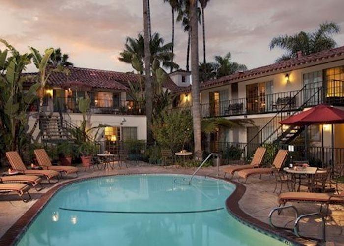 Pool at the Inn by the Harbor, Santa Barbara