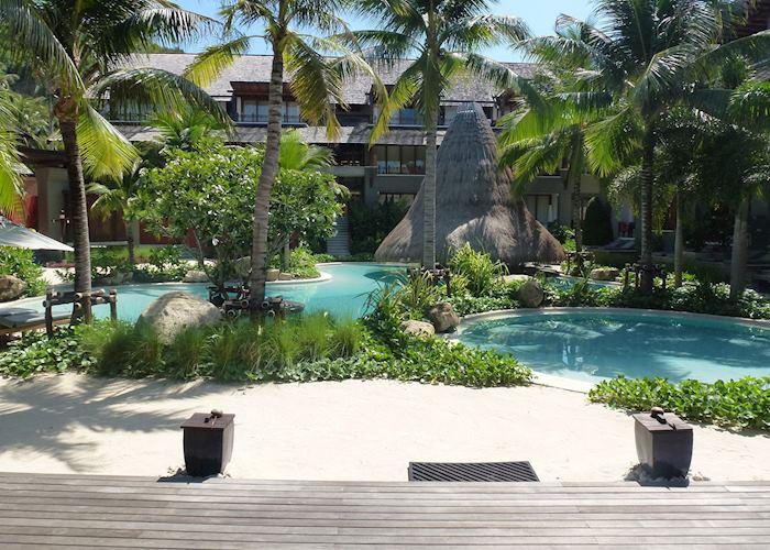 Sand side pool, Mai Samui, Koh Samui