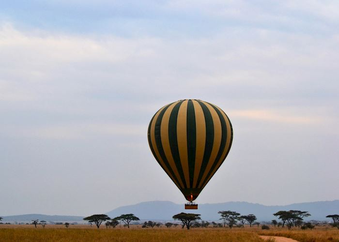 Balloon safari, Serengeti