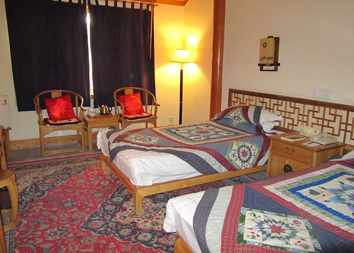 Deluxe room, Silk Road Dunhuang Hotel, Dunhuang