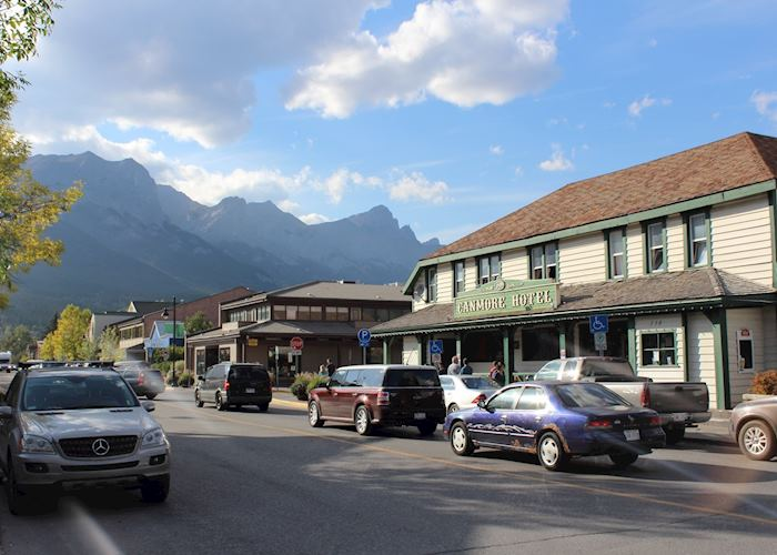 Downtown Canmore, Canada