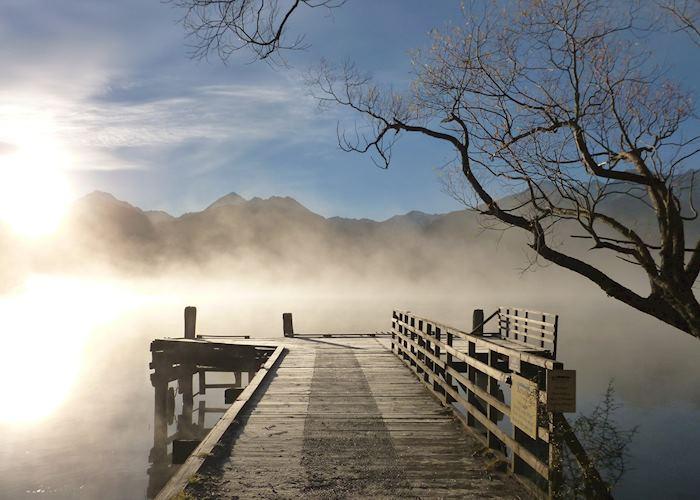 Kinloch jetty, Glenorchy, New Zealand