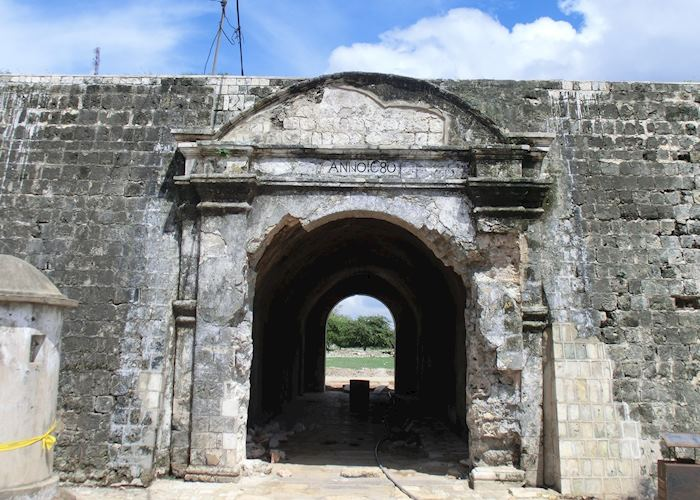 Entrance to the Dutch Fort, Jaffna