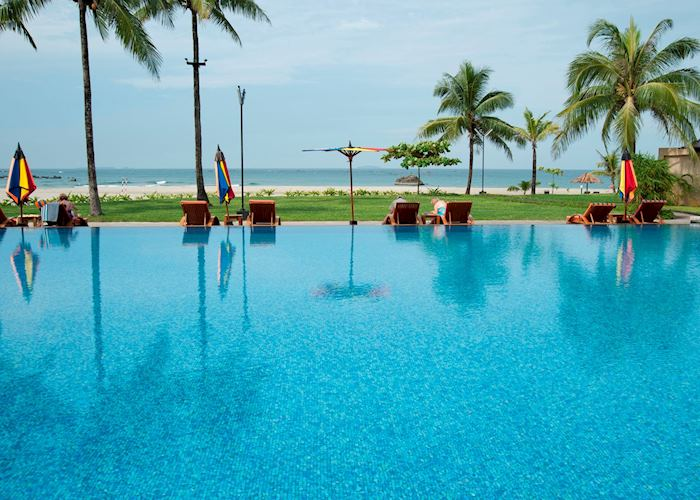 Bay of Bengal Resort, Ngwe Saung, Burma (Myanmar)