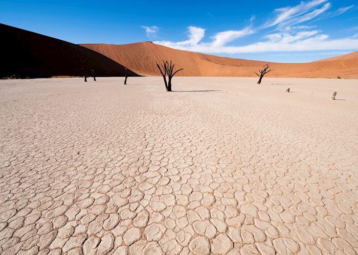 Dead vlei pan at Sossusvlei, Namibia