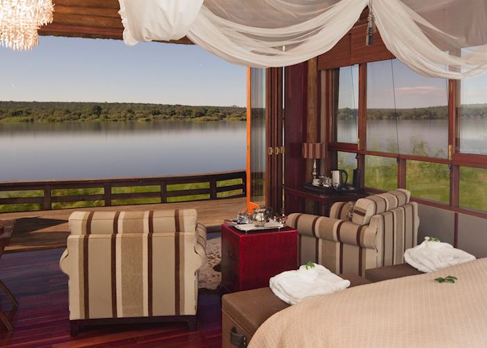 Royal Chundu River Lodge,Livingstone & The Victoria Falls