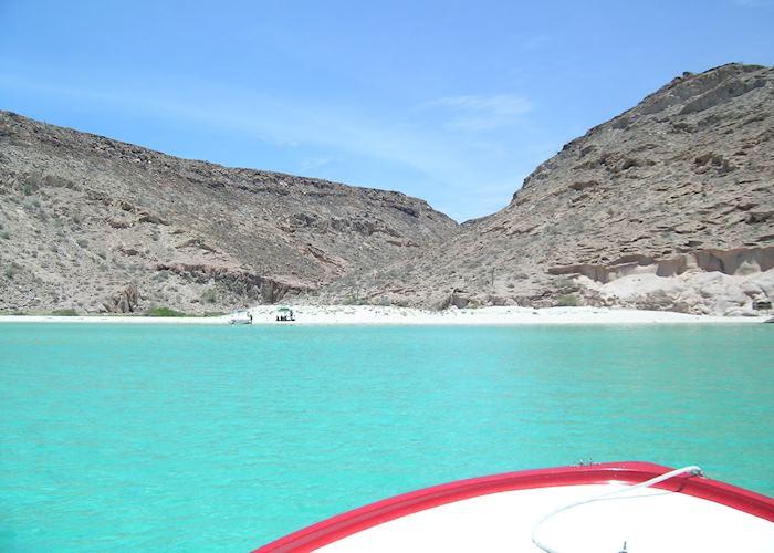 Beach Espiritu Santo, La Paz