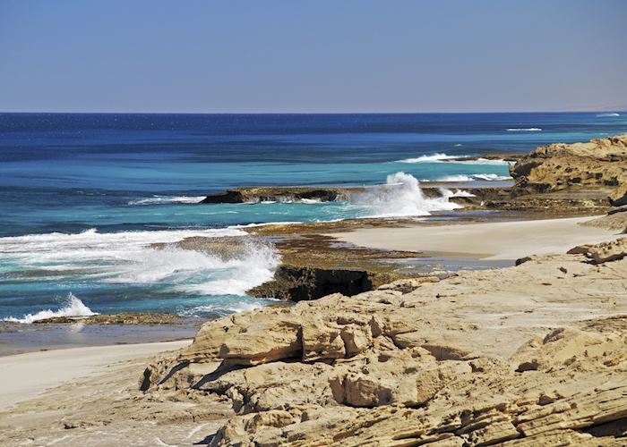 The coast at Kalbarri National Park