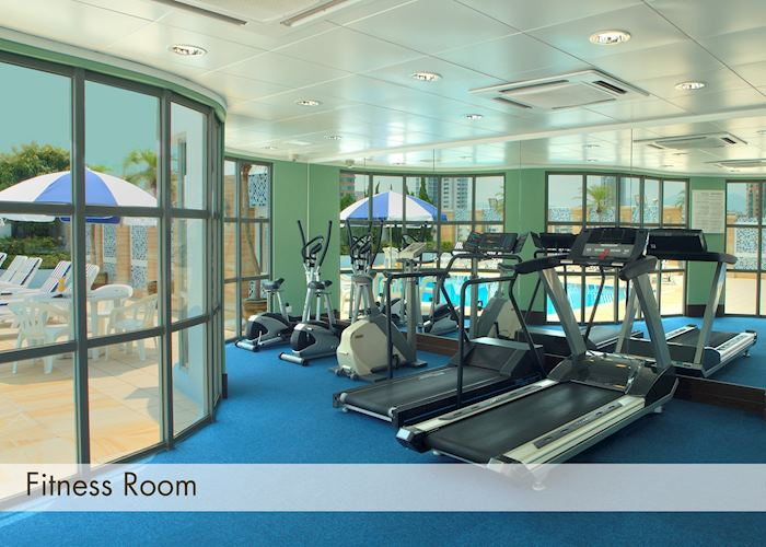 Fitness Room and Pool, Metropark Hotel