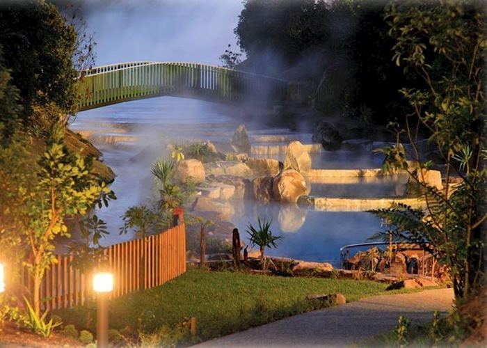 Wairakei Thermal Hot Pools, Lake Taupo, New Zealand