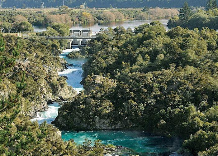 Aratiatia Rapids, Taupo, New Zealand