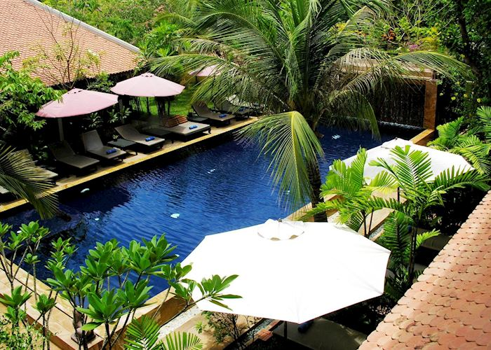 View of pool at Siddhartha