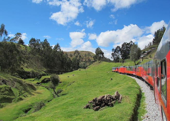 Ecuador's highlands on the Tren Crucero