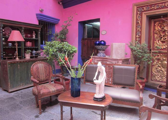 Meson de la Sacristia de la Compania, Puebla