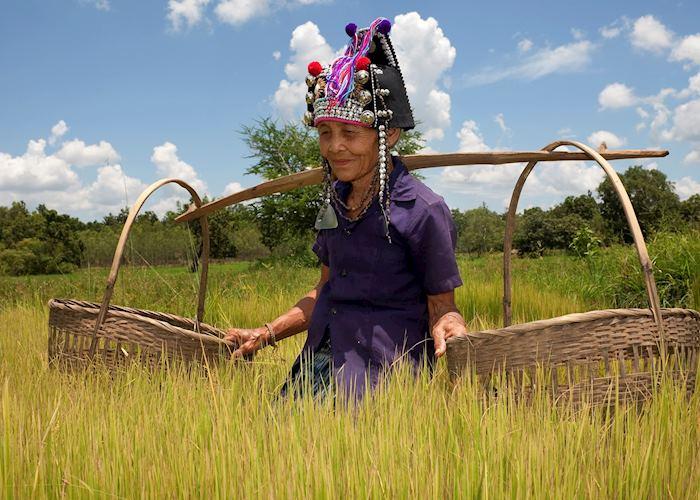 Lady of the Akha tribe, Laos