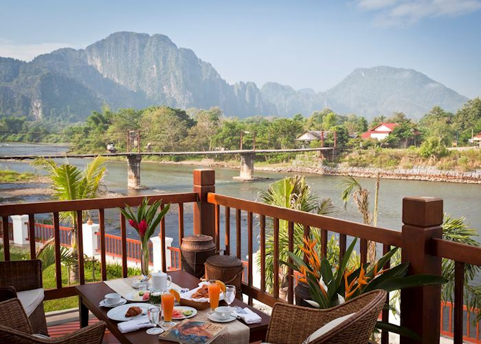 Riverside Boutique Resort,Vang Vieng