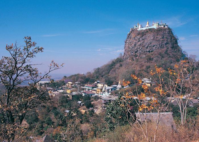 Mount Popa, Burma (Myanmar)