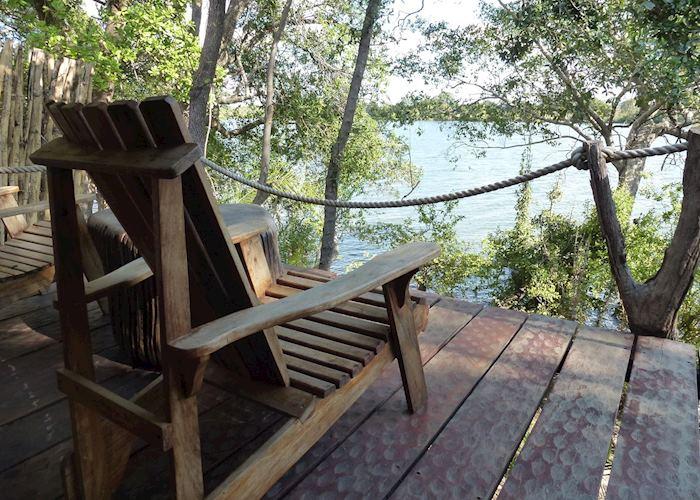 Luxury safari tent, Mukambi Safari Lodge, Kafue National Park