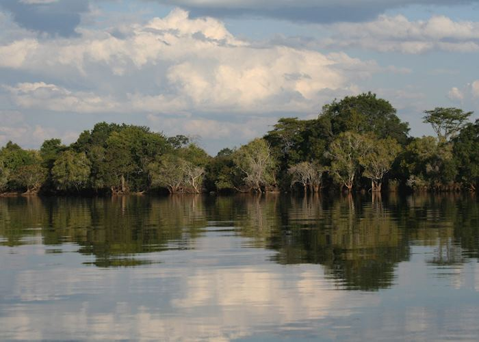 Reflections in the Kafue River