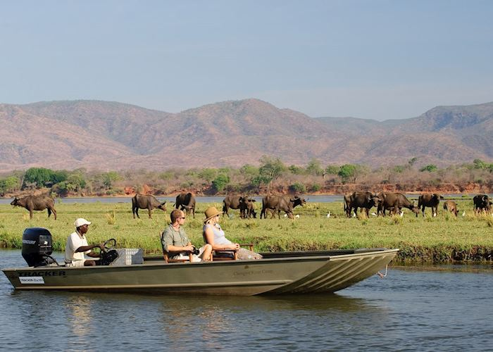 River Cruise from Chongwe River House, Lower Zambezi National Park
