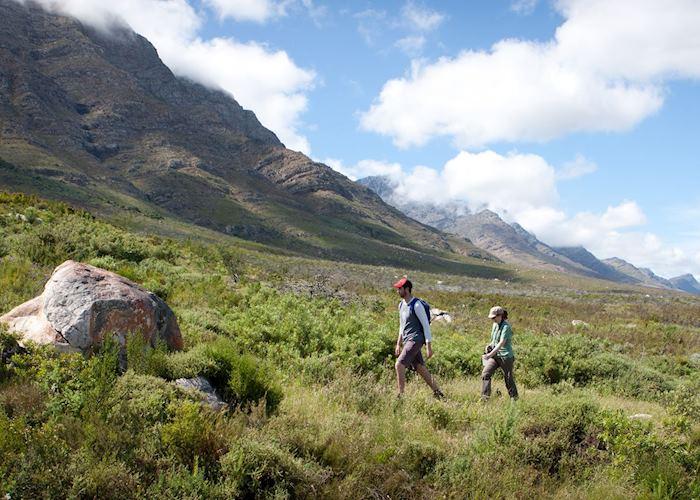 Hiking from Bartholomeus Klip, Tulbagh