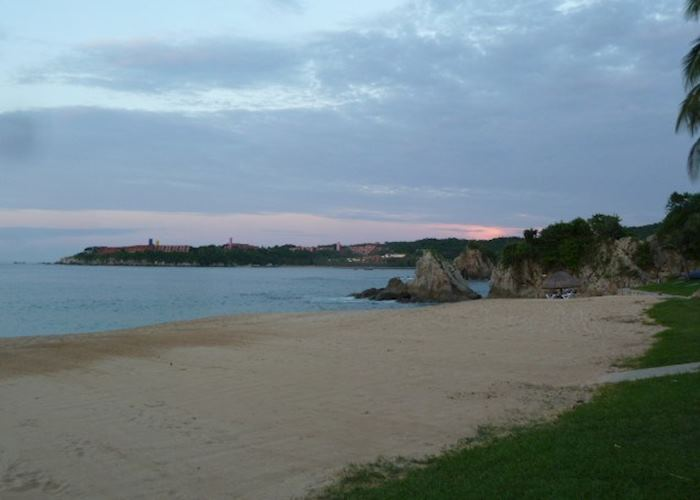 Beach at Huatulco, Mexico