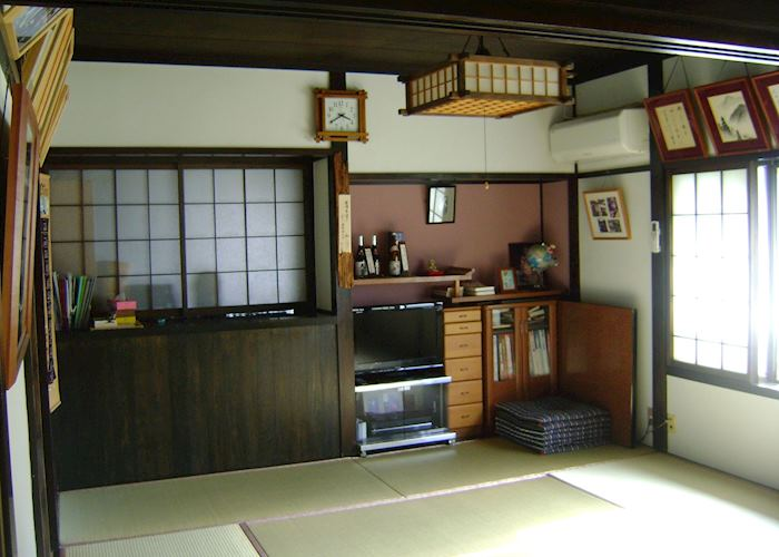 Dining room, Daikichi, Tsumago