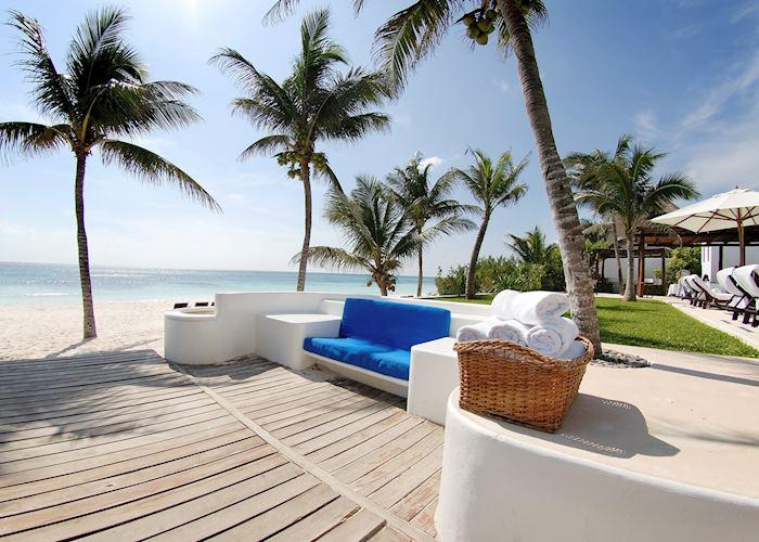 Pool Area, Esencia,Mayan Riviera