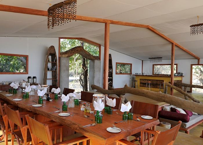 Dining Area, Potato Bush Camp, Lower Zambezi National Park