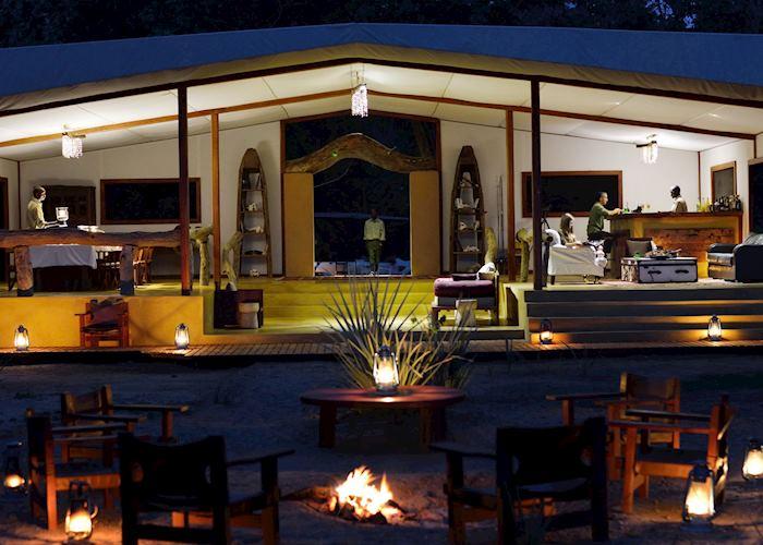 Dining Area, Potato Bush Camp, Lower Zambezi National Park