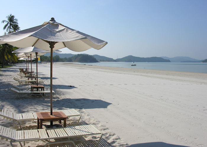 The beach at Casa Del Mar, Langkawi