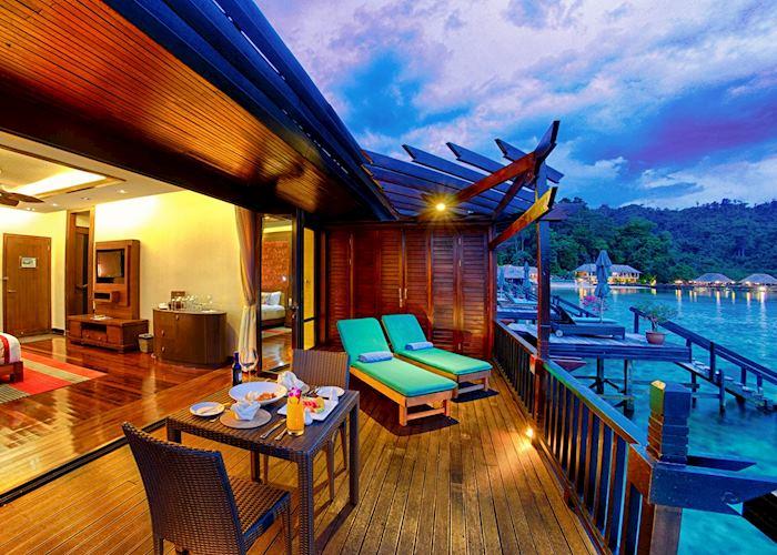 Ocean Villa, Gayana Eco Resort,Gaya Island