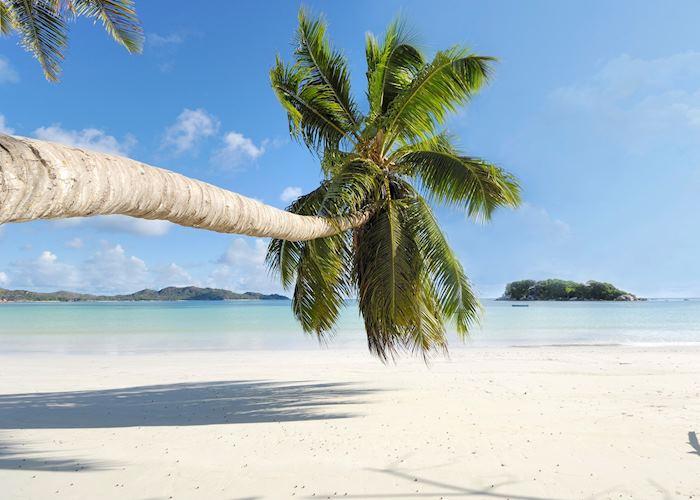 Cote D'Or beach, Praslin, Seychelles